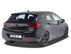 Opel Astra K Cyber Rear Wing Extension