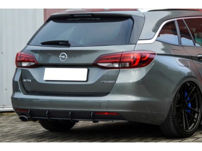 Opel Astra K Intenso Rear Bumper Extension