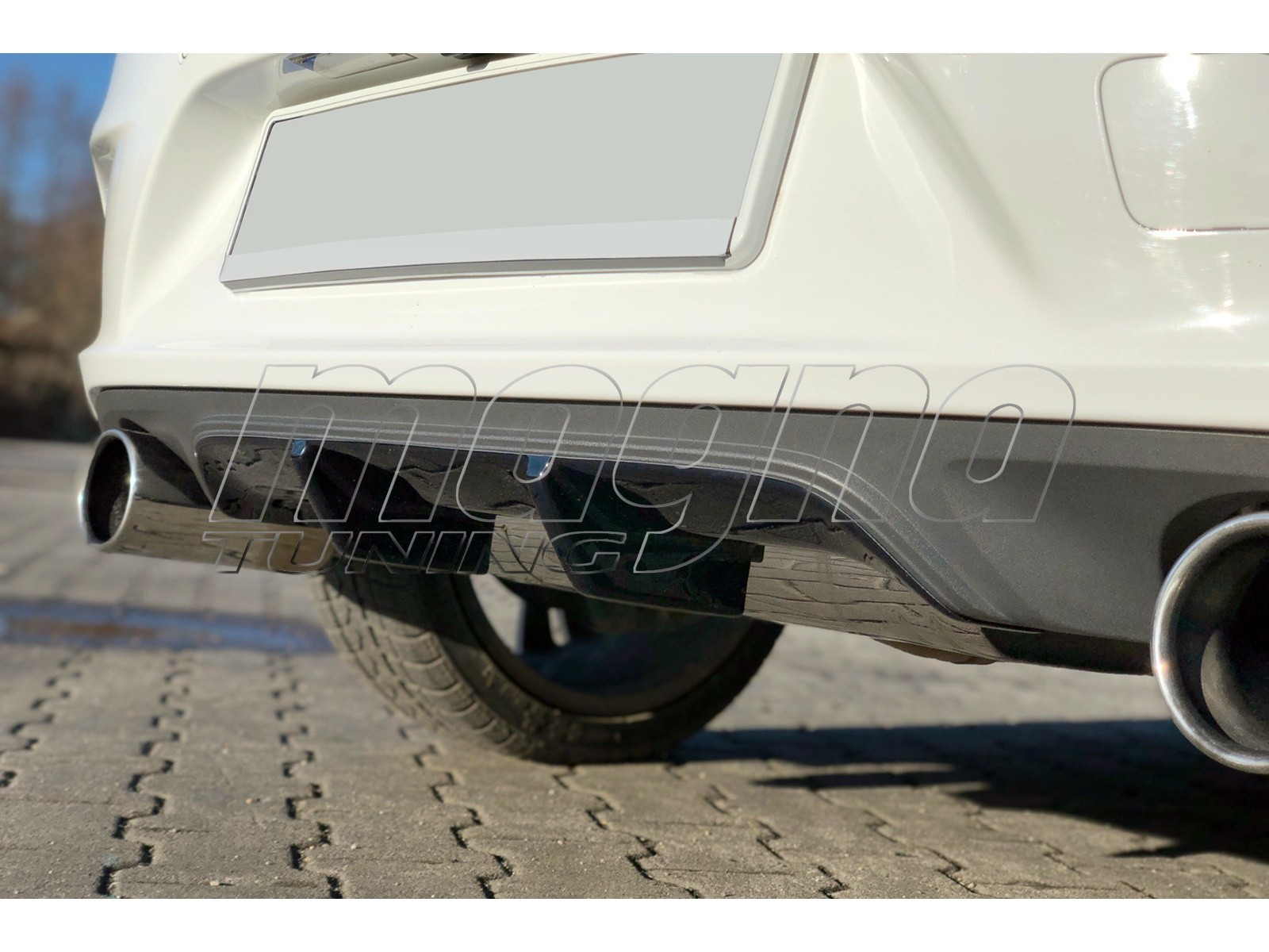 Opel Astra K MX Rear Bumper Extension