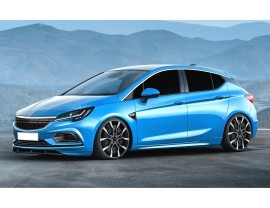 Opel Astra K OPC I-Line Front Bumper Extension
