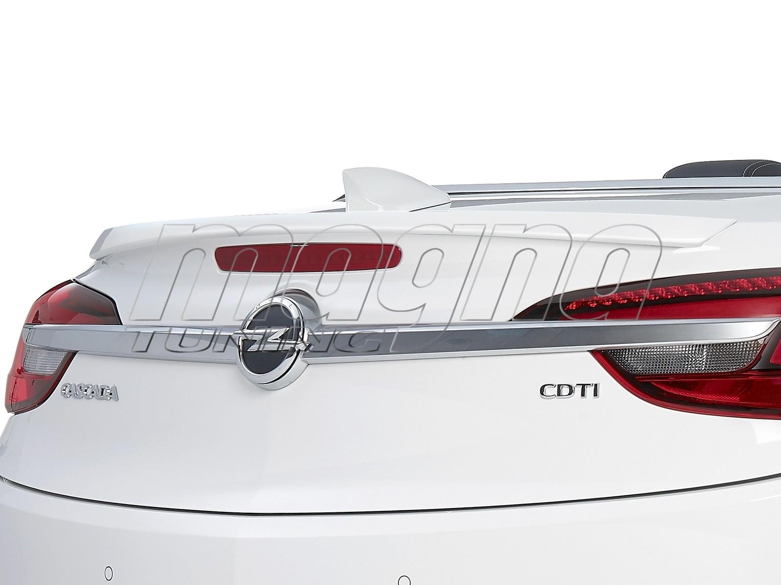 Opel Cascada Crono Rear Wing