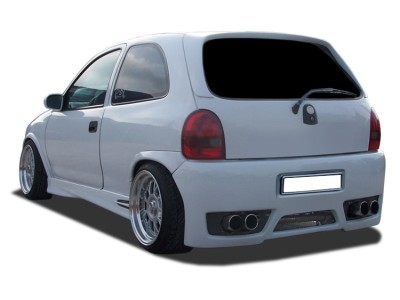 Opel Corsa B GTX-Race Rear Bumper with Number Plate Support