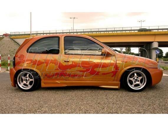 Opel Corsa B NT Side Skirts