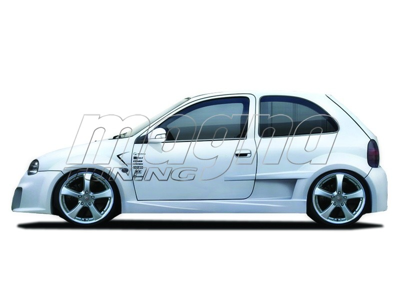 Opel Corsa B Optimum Wide Kuszobok