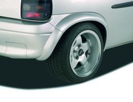 Opel Corsa B XXL-Line Rear Wheel Arch Extensions