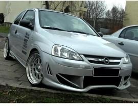 Opel Corsa C Aggressive Front Bumper