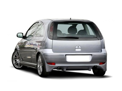 Opel Corsa C Facelift J2 Rear Bumper Extension