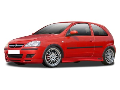 Opel Corsa C Facelift RX Front Bumper Extension