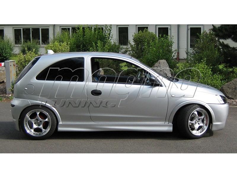 Opel Corsa C Intenso Side Skirts