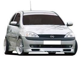 Opel Corsa C R2 Front Bumper Extension