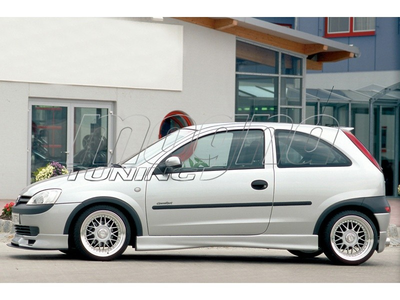 Opel Corsa C R2 Side Skirts