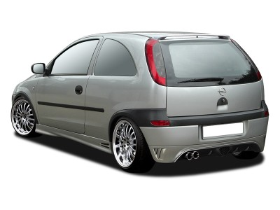 Opel Corsa C RX Rear Bumper Extension