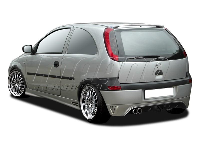 Opel Corsa C RX2 Rear Bumper Extension