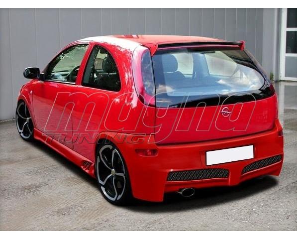 Opel Corsa C Raver Rear Bumper