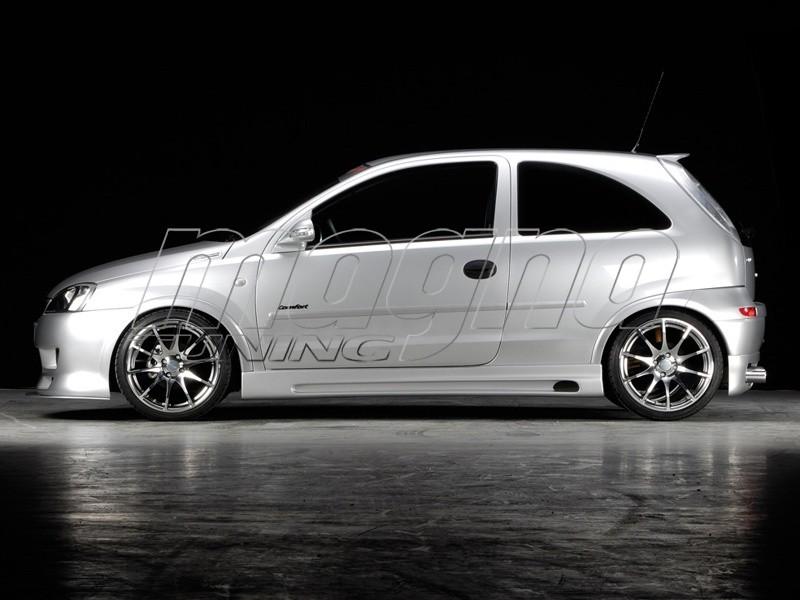 Opel Corsa C Recto Side Skirts