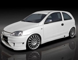 Opel Corsa C Snake Side Skirts