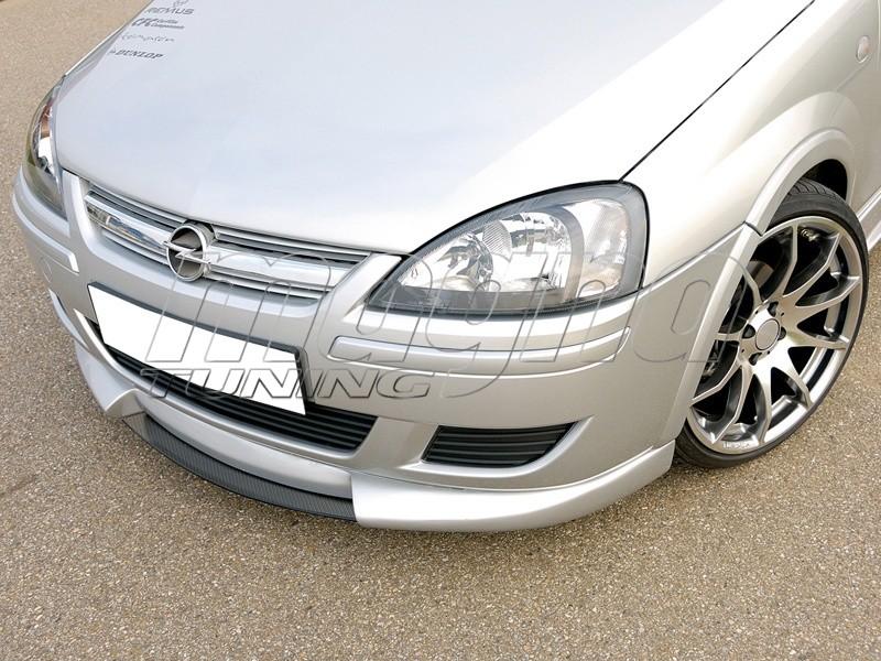 Opel Corsa Spoiler Opel Corsa c Vector Front