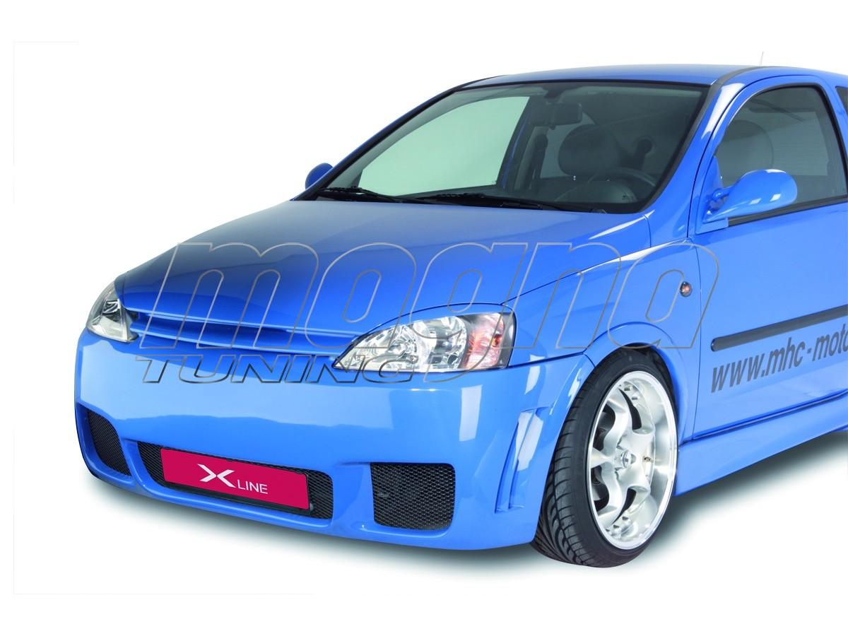 Opel Corsa C XXL-Line Front Bumper
