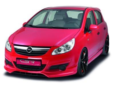Opel Corsa D Crono Front Bumper Extension