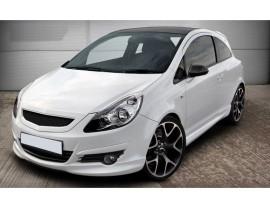 Opel Corsa D DTS Front Bumper Extension