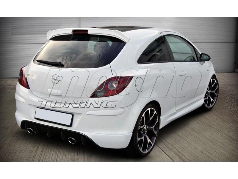 Opel Corsa D DTS Rear Bumper Extension