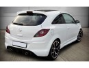 Opel Corsa D DTS Side Skirts