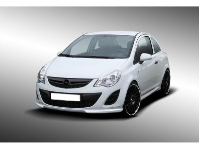 Opel Corsa D Facelift DTS Front Bumper Extension