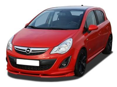 Opel Corsa D Facelift V2 Front Bumper Extension