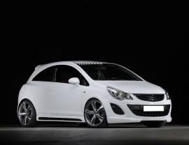 Opel Corsa D Facelift Vortex Body Kit