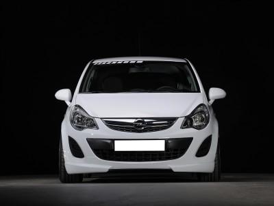 Opel Corsa D Facelift Vortex Front Bumper Extension