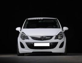 Opel Corsa D Facelift Vortex-Line Front Bumper Extension