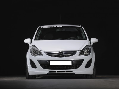 Opel Corsa D Facelift Vortex2 Front Bumper Extension