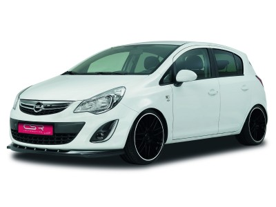 Opel Corsa D Facelift XL-Line Front Bumper Extension