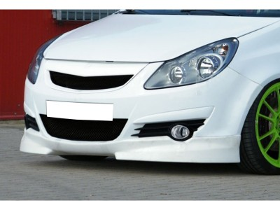 Opel Corsa D Intenso Front Bumper Extension