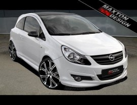 Opel Corsa D M-Style Front Bumper Extension