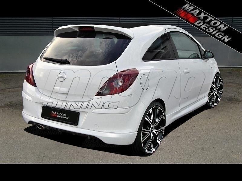 Opel Corsa D M-Style Rear Bumper Extension
