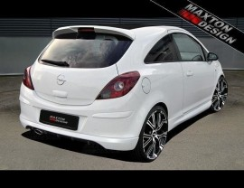 Opel Corsa D M-Style Rear Bumper Extension