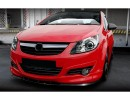 Opel Corsa D M2-Style Front Bumper Extension