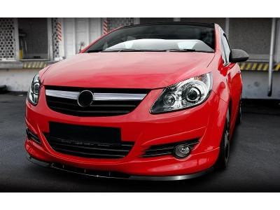 Opel Corsa D M2-Style Front Bumper Extension