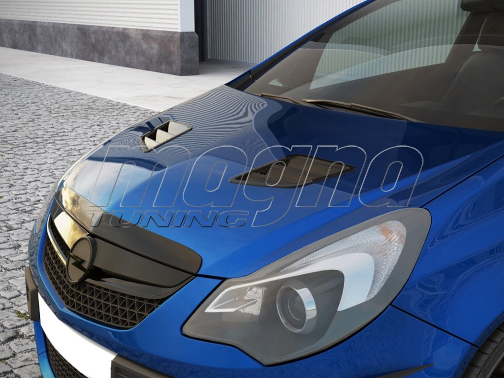 Air intake on the hood of a car - a luxury or a necessity 74
