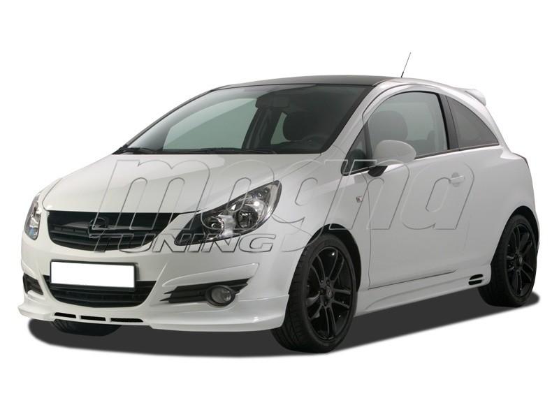 Corsa d Front Spoiler Opel Corsa d Newline Front