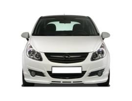 Opel Corsa D NewLine Front Bumper Extension