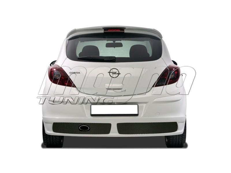 Opel Corsa D NewLine Rear Bumper Extension