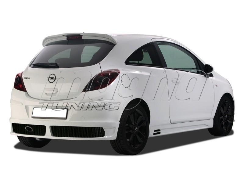 Opel Corsa D NewLine Rear Wing