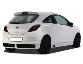 Opel Corsa D NewLine Side Skirts