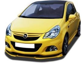 Opel Corsa D OPC Facelift Nurburgring VNRX Front Bumper Extension