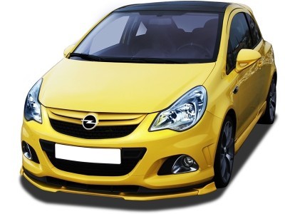Opel Corsa D OPC Facelift Nurburgring VNRX Front Bumper Extension