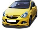 Opel Corsa D OPC Facelift Verus-X Front Bumper Extension