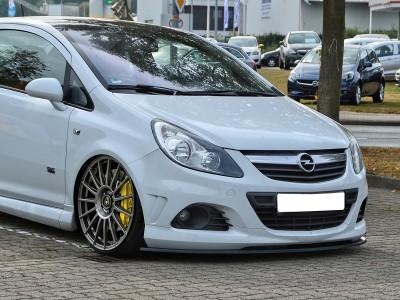 Opel Corsa D OPC Invido Front Bumper Extension