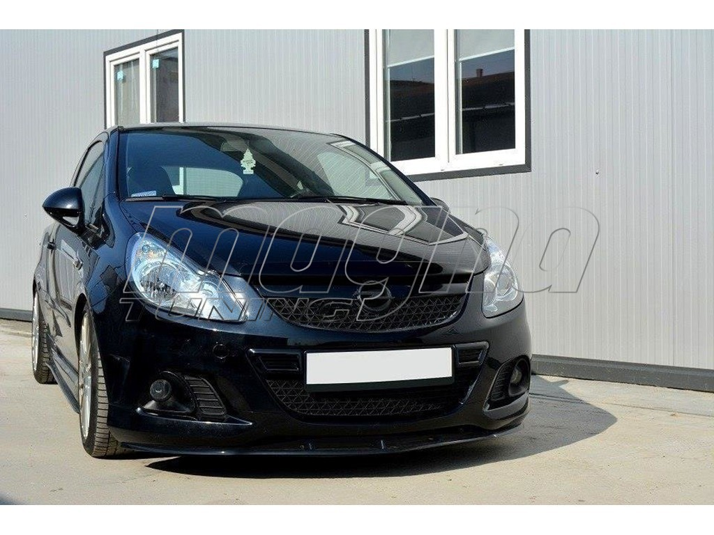Opel Corsa D OPC MX-Style Front Bumper Extension